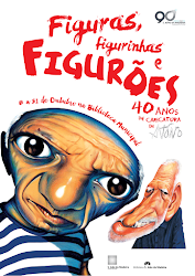 """Exposição """"Figuras, Figurinhas, figurões : 40 anos de carreira de António"""""""