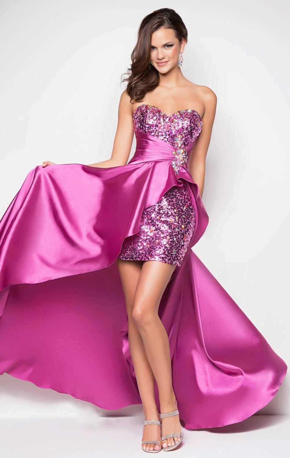 Exclusivos dise os de vestidos de 15 a os moda para for Colores sensuales
