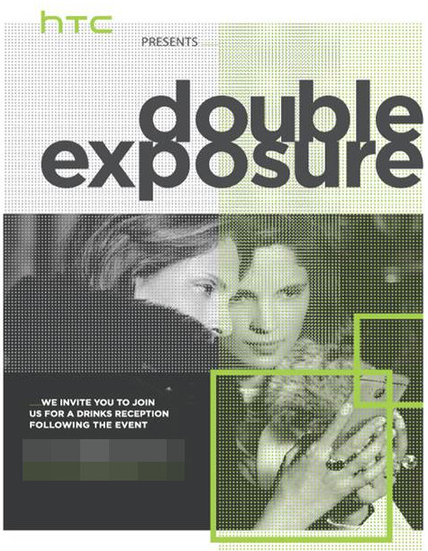 "HTC schedules ""Double Exposure"" event on October 8"