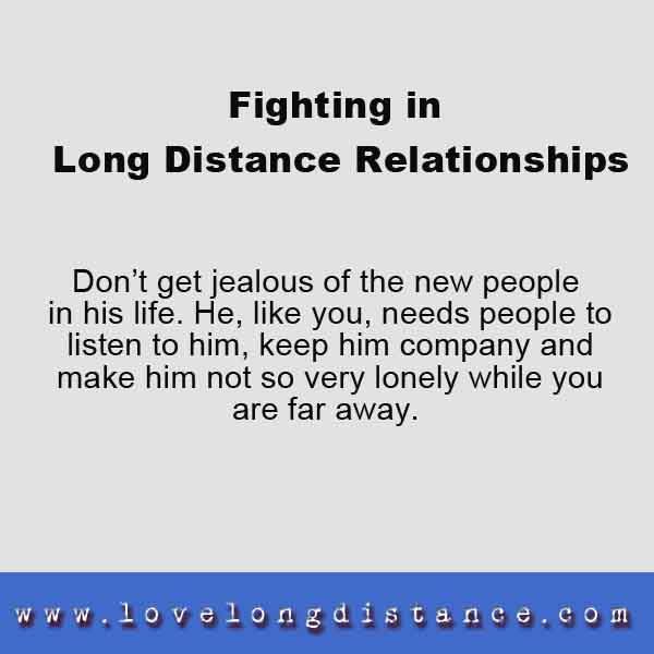 Dating someone new long distance