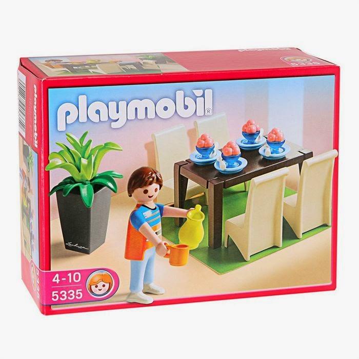 On fait koi chez les playmobils on se meuble for Salle a manger playmobil 5335