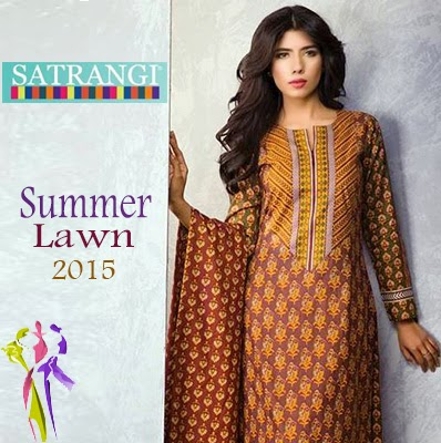 Satrangi Summer Lawn Collection 2015