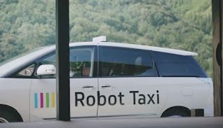 Taksi-Robotë, Japonia teston makinat pa shoferë