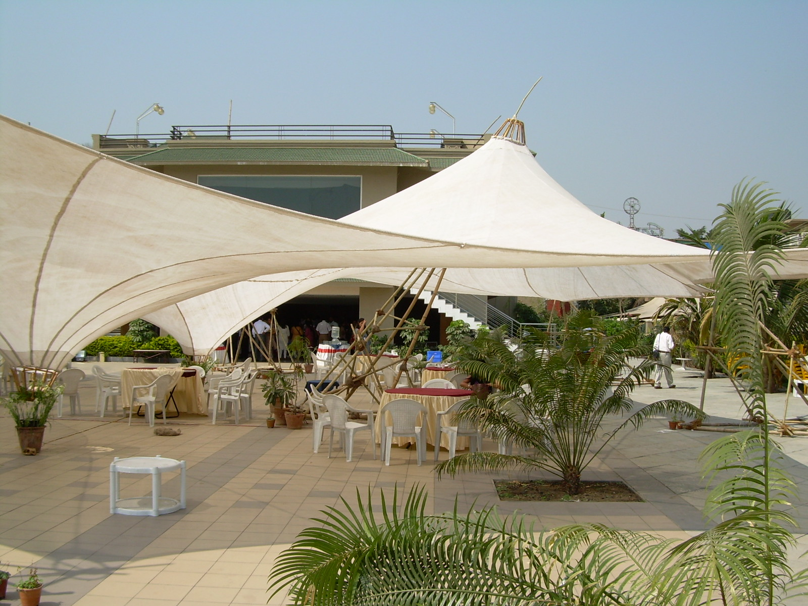 Architectural Side Pole Tensile Umbrella | TENSION FABRIC ROOFS | Pinterest | Architects & Architectural Side Pole Tensile Umbrella | TENSION FABRIC ROOFS ...