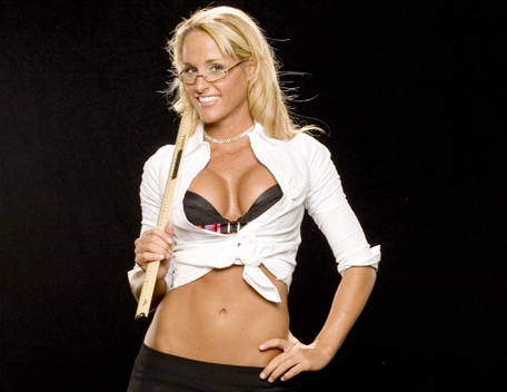 Michelle mccool being sexy