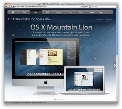 OS X Mountain Lion, MAC, App Store, Sistema Operativo, Mac App Store