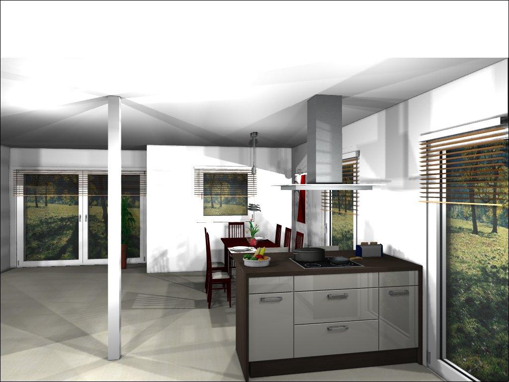 hausbau von christian und jeannette mit der firma deko hausbau gmbh k che gekauft. Black Bedroom Furniture Sets. Home Design Ideas