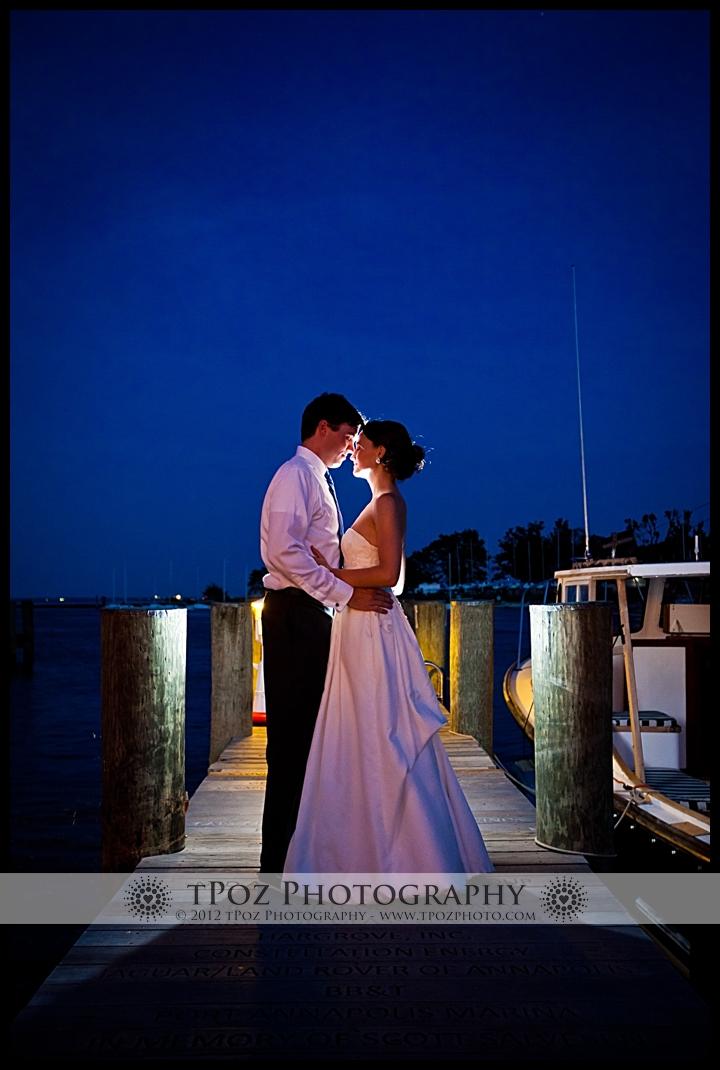 Annapolis Maritime Museum Wedding Photo Bride Groom