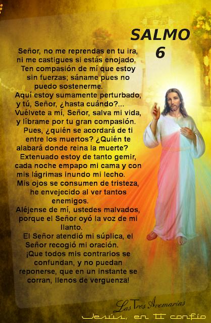 oracion salmo 6