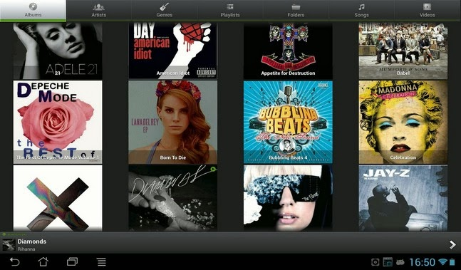 PlayerPro Music Player android apk - Screenshoot