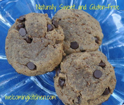 Vegan, Gluten-free Chocolate Chip Cookies