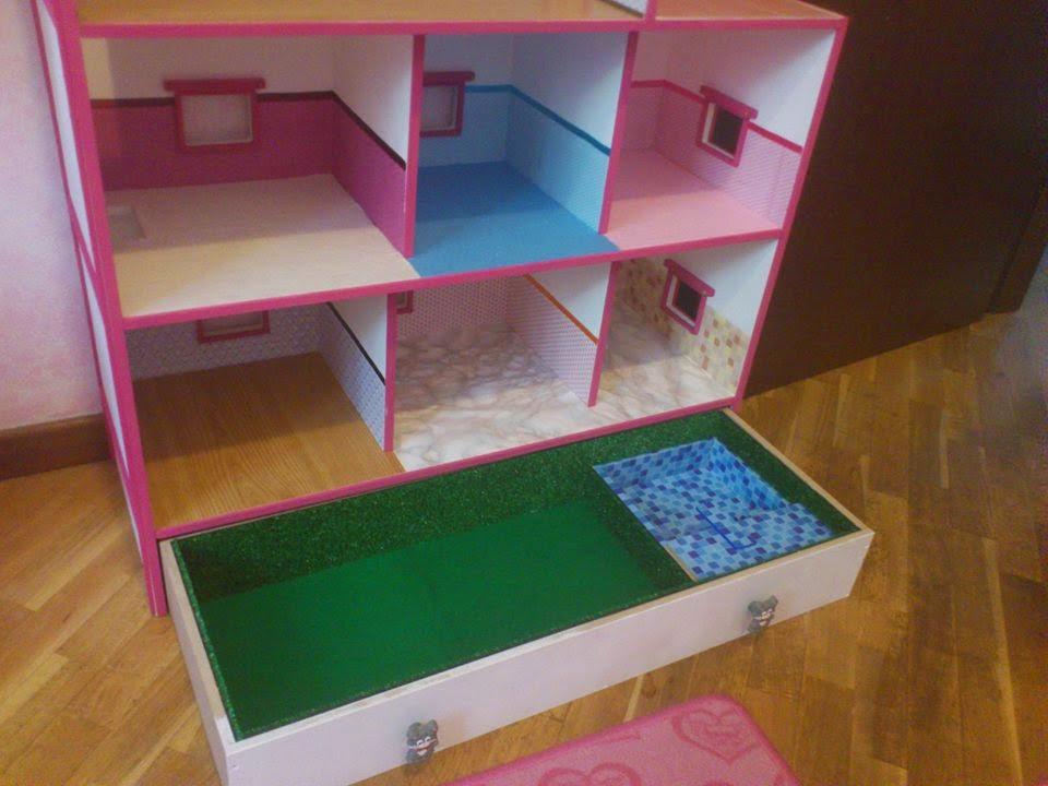 Costruire Una Casa Delle Bambole Di Legno : Pasticcicreativi casa delle bambole homemade