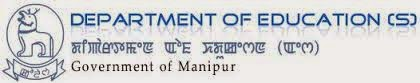 Manipur Education Department Vacancy 2014