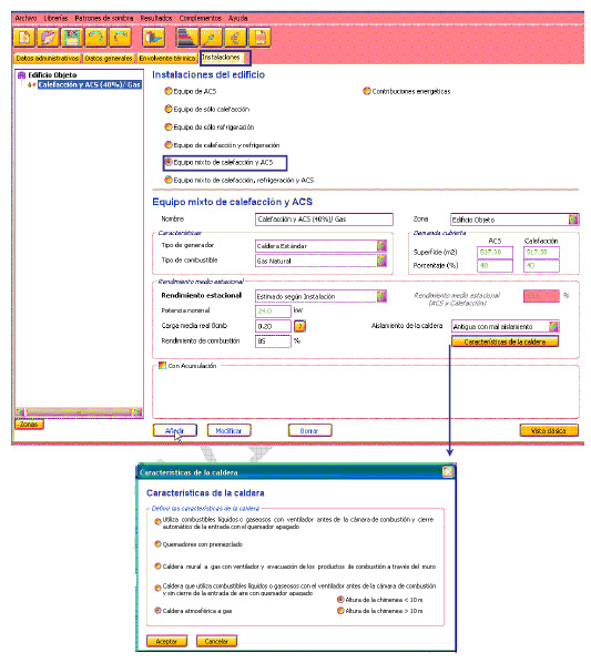 Vg at ejemplo de certificaci n energ tica con ce3x ii for Termo electrico clase energetica a