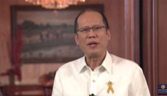 Christmas message 2015 by President Benigno Aquino III