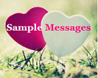Sample Messages