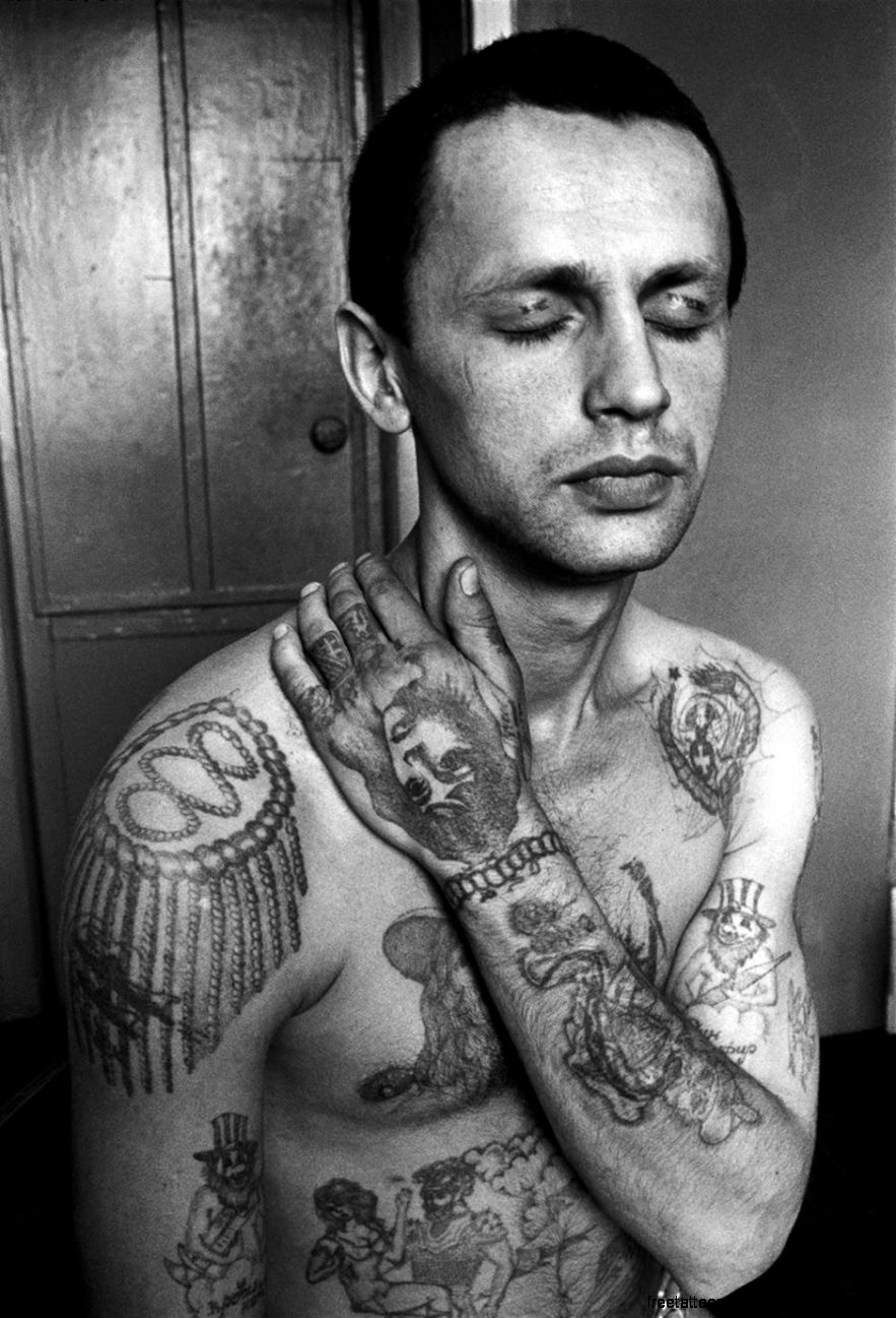 In Russian Prisons Tattoos Tell Stories Indicate Rank