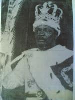 الإمبراطور جان بيديل بوكاسا أول وأخر إمبراطور لدولة إفريقيا الوسطى فى حفل تتويجه