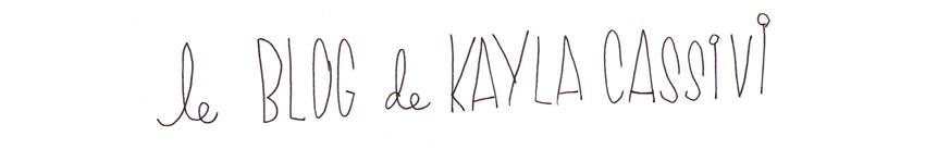 Kayla Cassivi - Artist, Craftist, Vegetablist