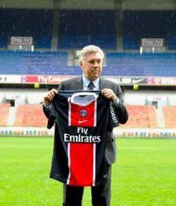 Ancelotti Resmi Pelatih PSG, Lawan AC Milan