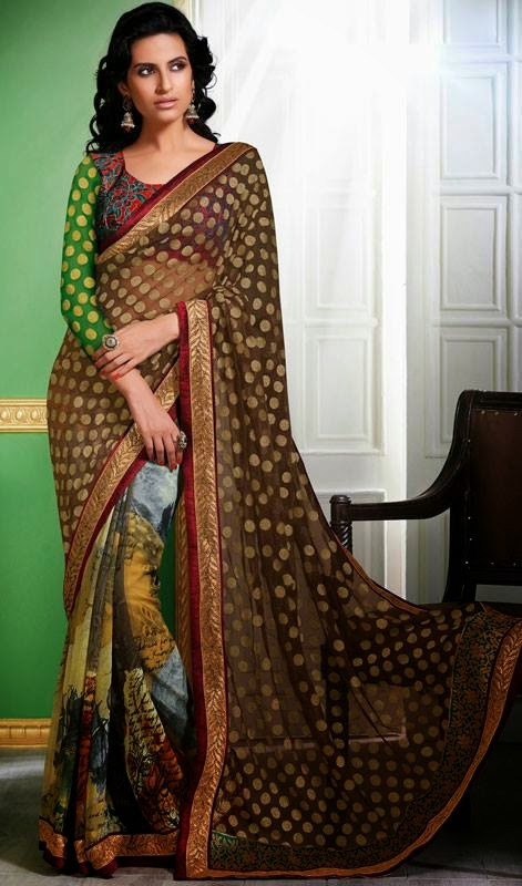 Evening Elegant Wedding Sarees Collection