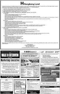 Lowongan kerja koran kompas Sabtu 2 Maret 2013 satu