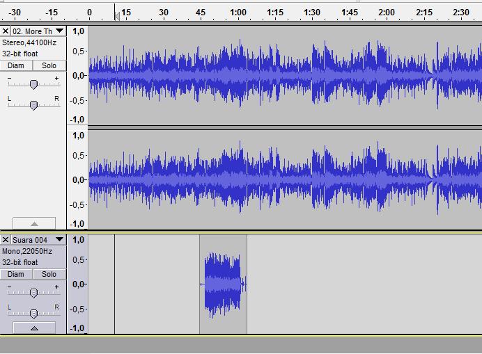 Cara Menggabungkan Beberapa Lagu Menjadi Satu File mp3