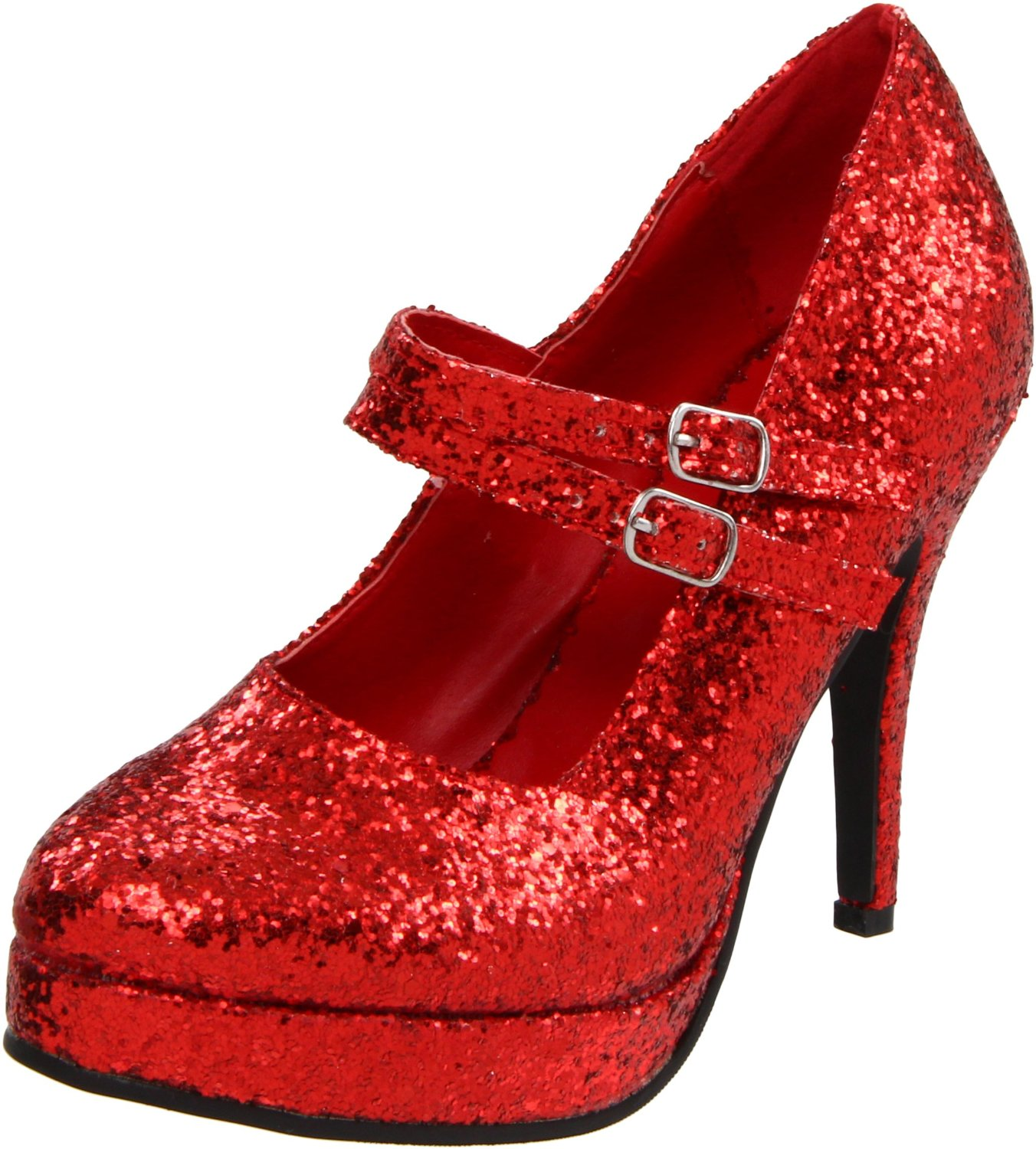 Fashion trends: Red glitter shoes - High heel prom shoes
