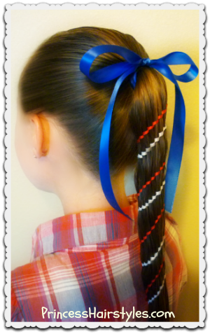 Fourth Of July Hairstyles, Aztec Carousel Braid