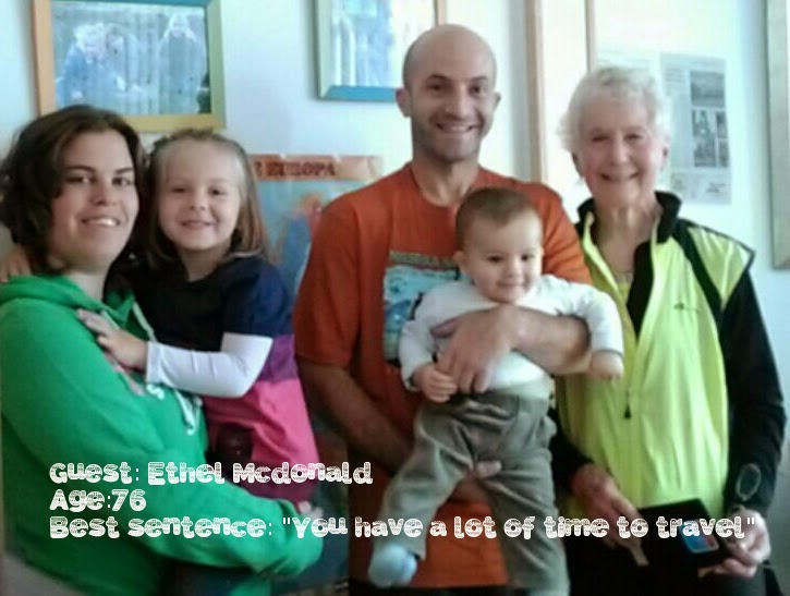 Familia Supertramp con Ethel McDonald