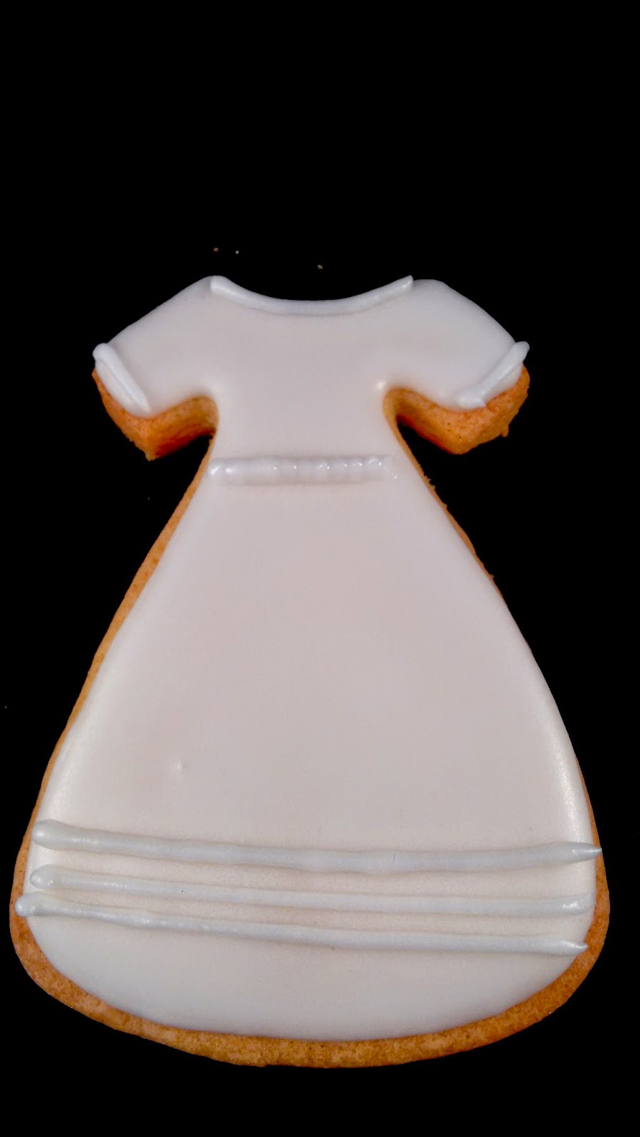 galleta vestido comunion