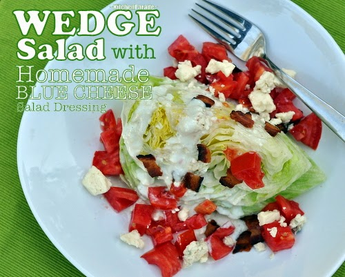 Iceberg Wedge With Warm Bacon And Blue Cheese Dressing Recipes ...