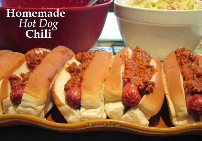 Homemade Hot Dog Chili aka Coney Sauce