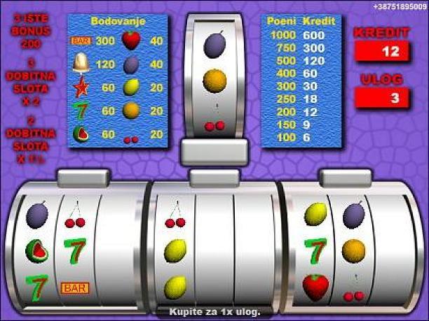 Slot aparati besplatno igranje