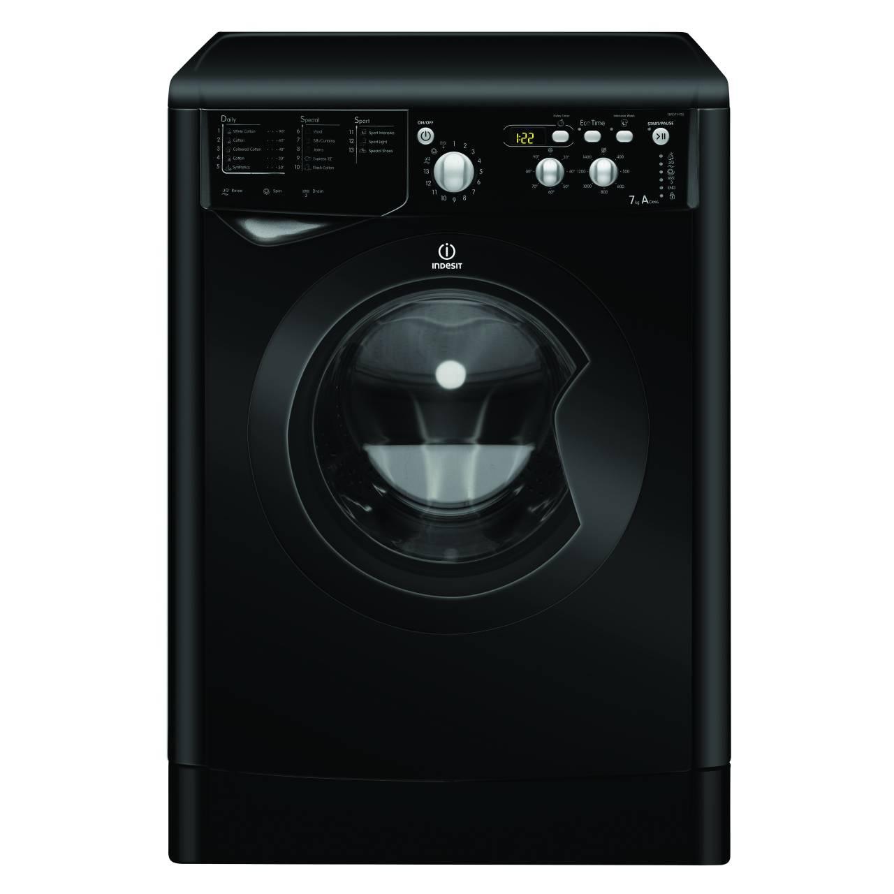 washing machine reviews indesit iwd7145. Black Bedroom Furniture Sets. Home Design Ideas