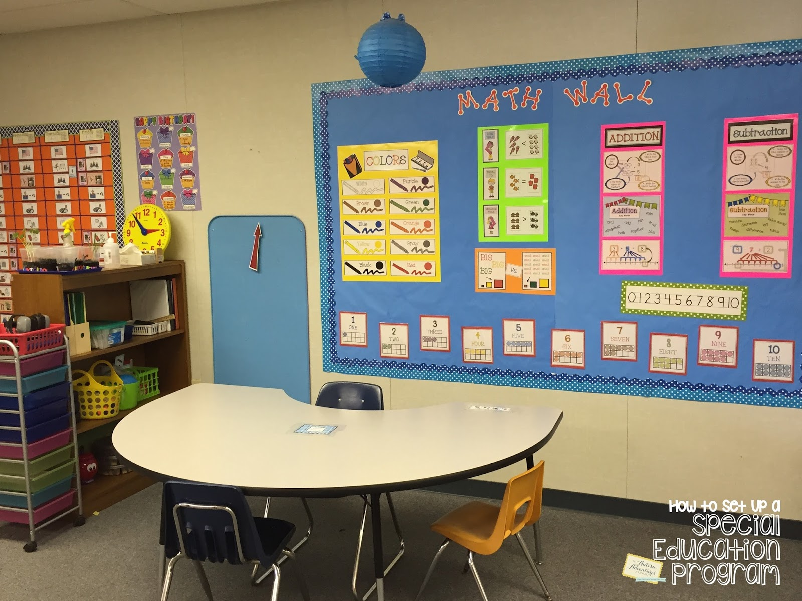 Classroom Design For Autism ~ Quot how to set up a special education program teaching math