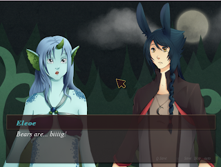 Zayay visual novel review zayo eleola