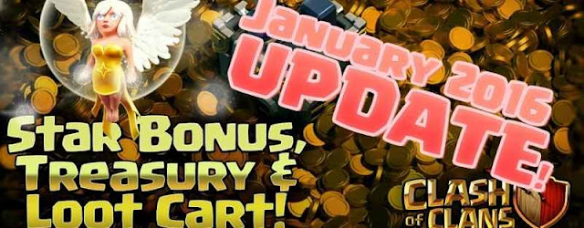 January Update Clash of Clans