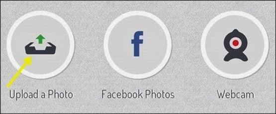 imagem de modelo de fazer upload