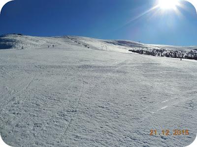 A doua zi de ski la Straja insorita