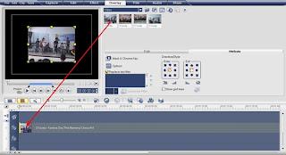 menyatukan video dalam 1 layar