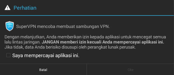 i trust this application supervpn free