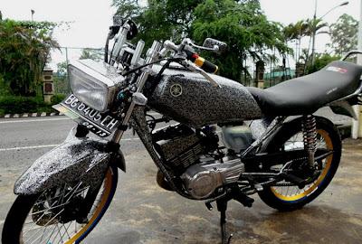 Modifikasi Motor Rx King Ceper