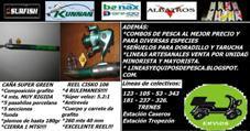 EQUIPO PARA LANCE DE COSTA: $250!!!