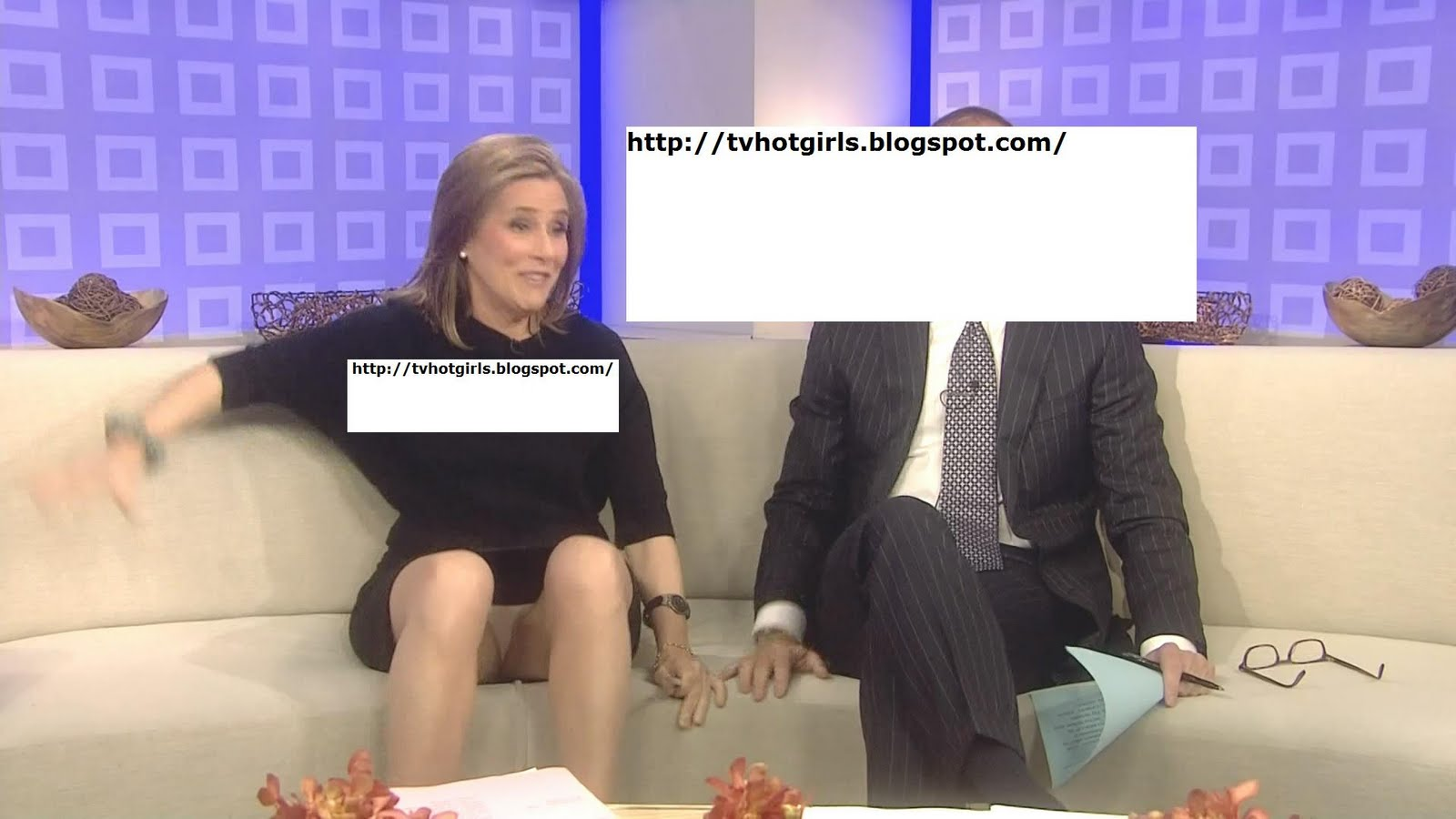 Meredith Vieira Upskirt Panties