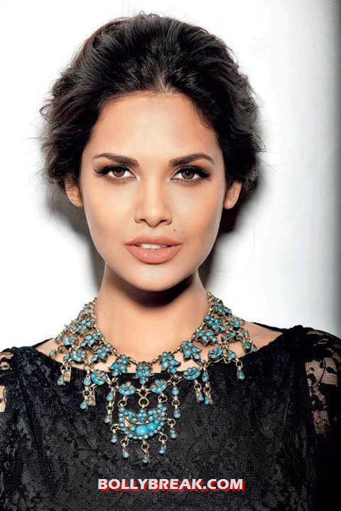Esha Gupta beautiful face close up photo unseen - Esha Gupta Face Close Up - Jewellery Ad