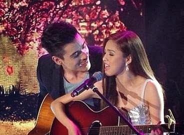 Kim Chiu and Xian Lim Acoustic Prod on ASAP 18 [Photo courtesy of ASAP Official]