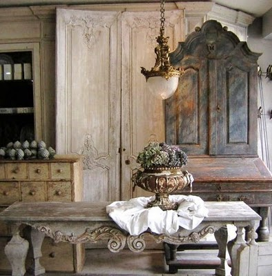 Decor Country French French Interiors Shabby Chic