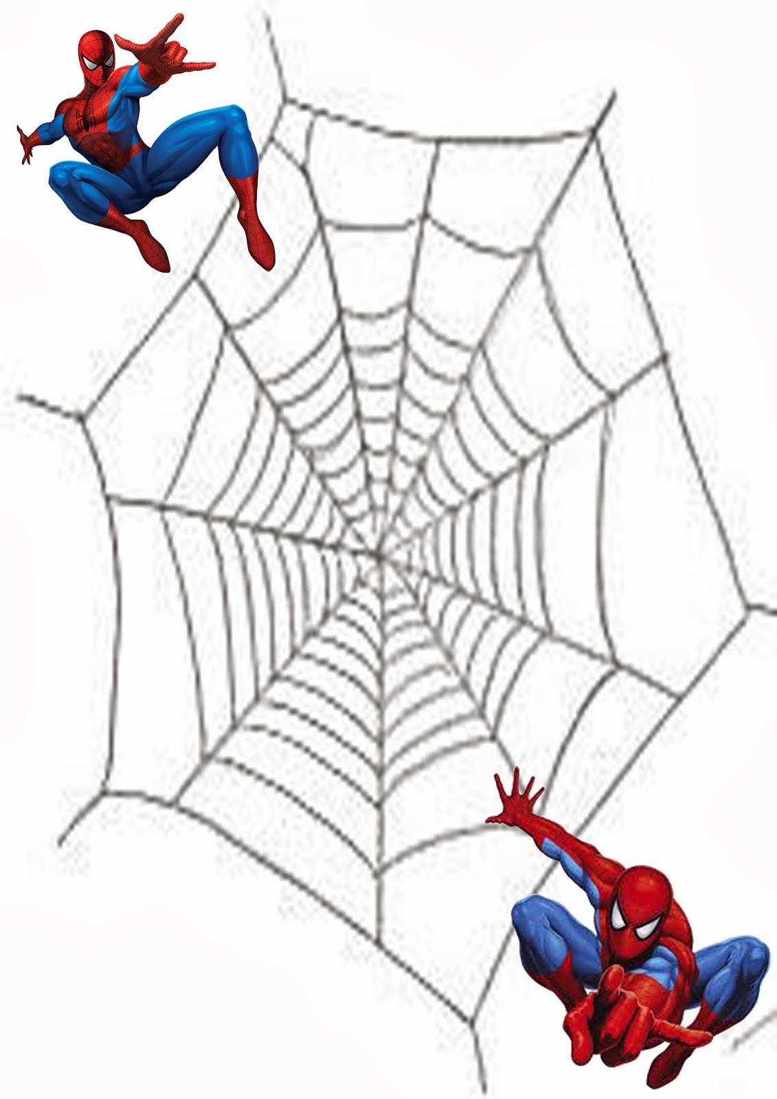 Festa di compleanno spiderman facciamo festa insieme for Spiderman da stampare gratis