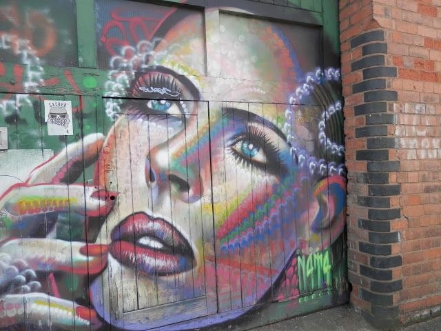 Street Art and Graffiti, Digbeth, Birmingham.  secondhandsusie.blogspot.co.uk